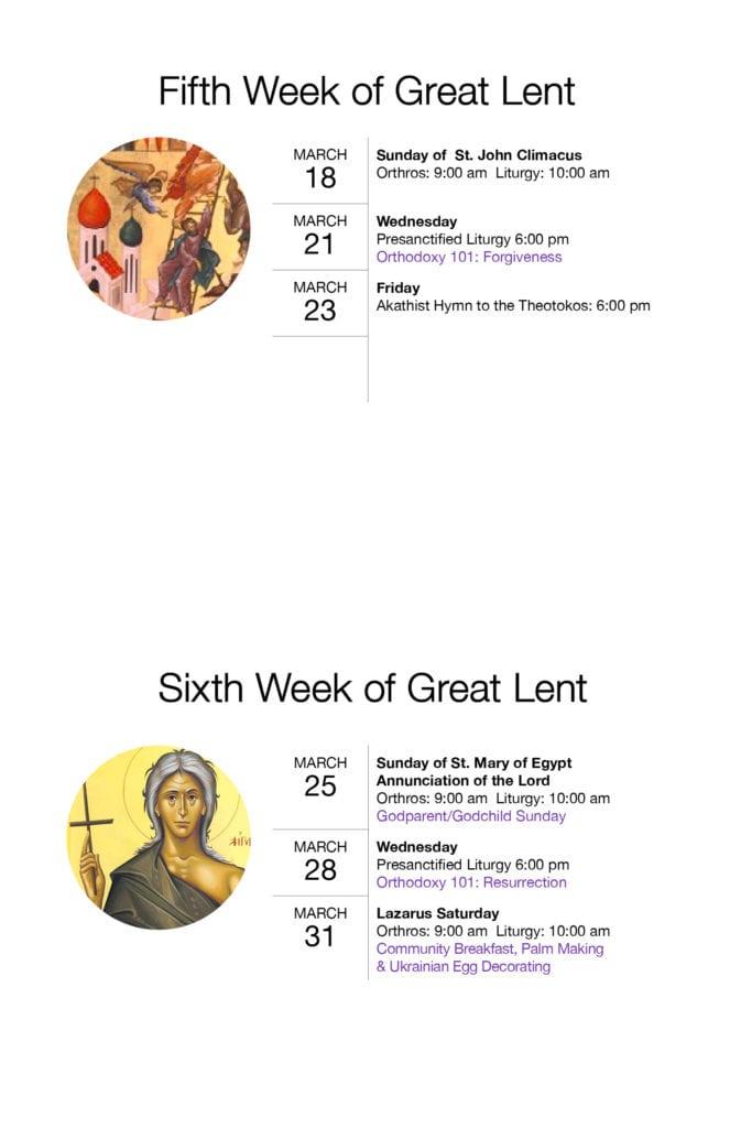 Great Lent 20185