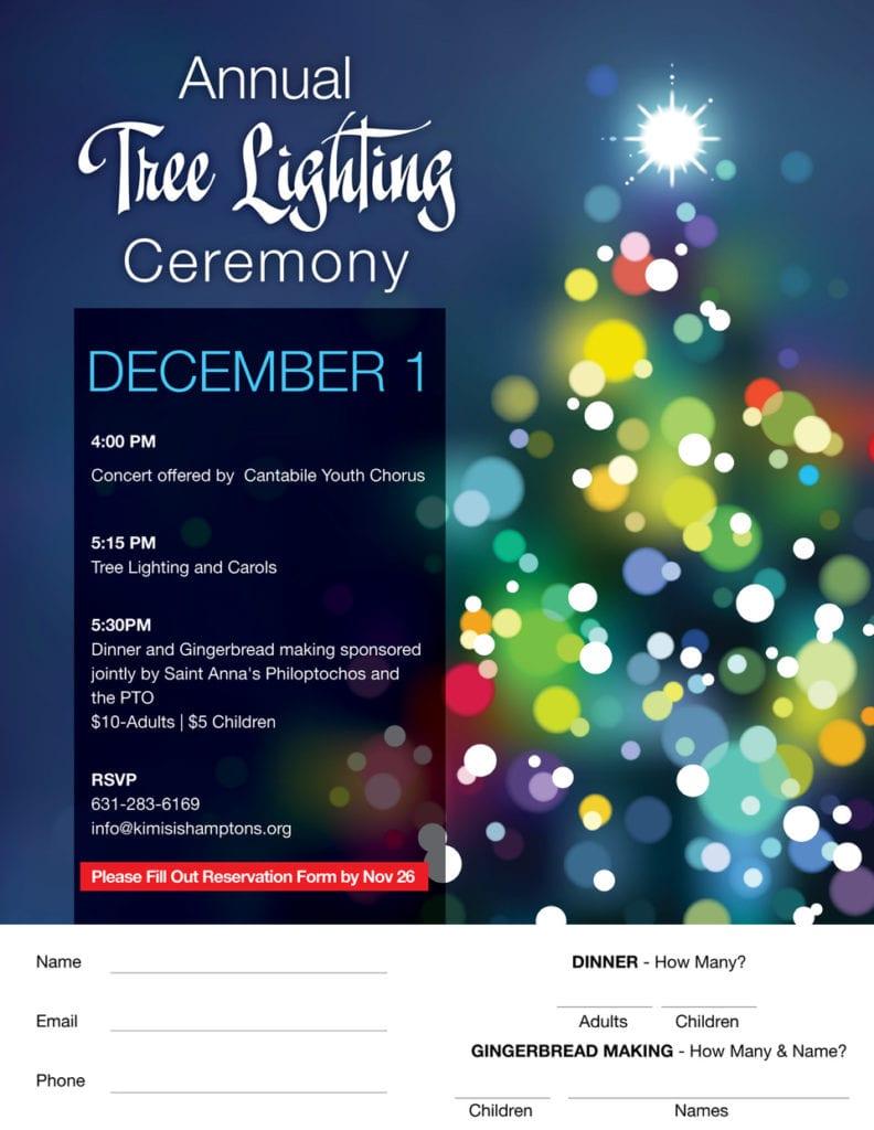 2018 Tree Lighting